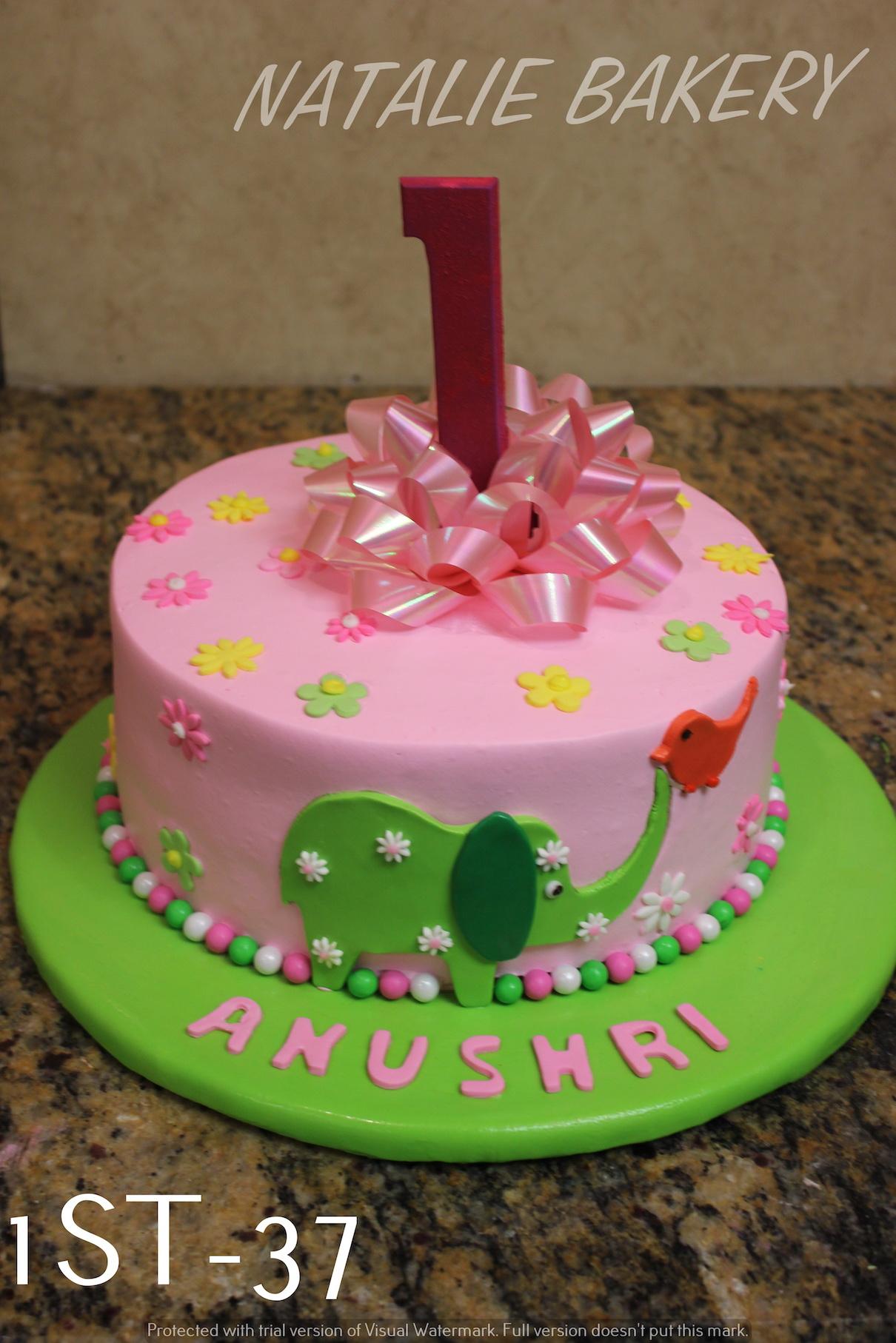 1st Birthday Cakes Natalie Bakery