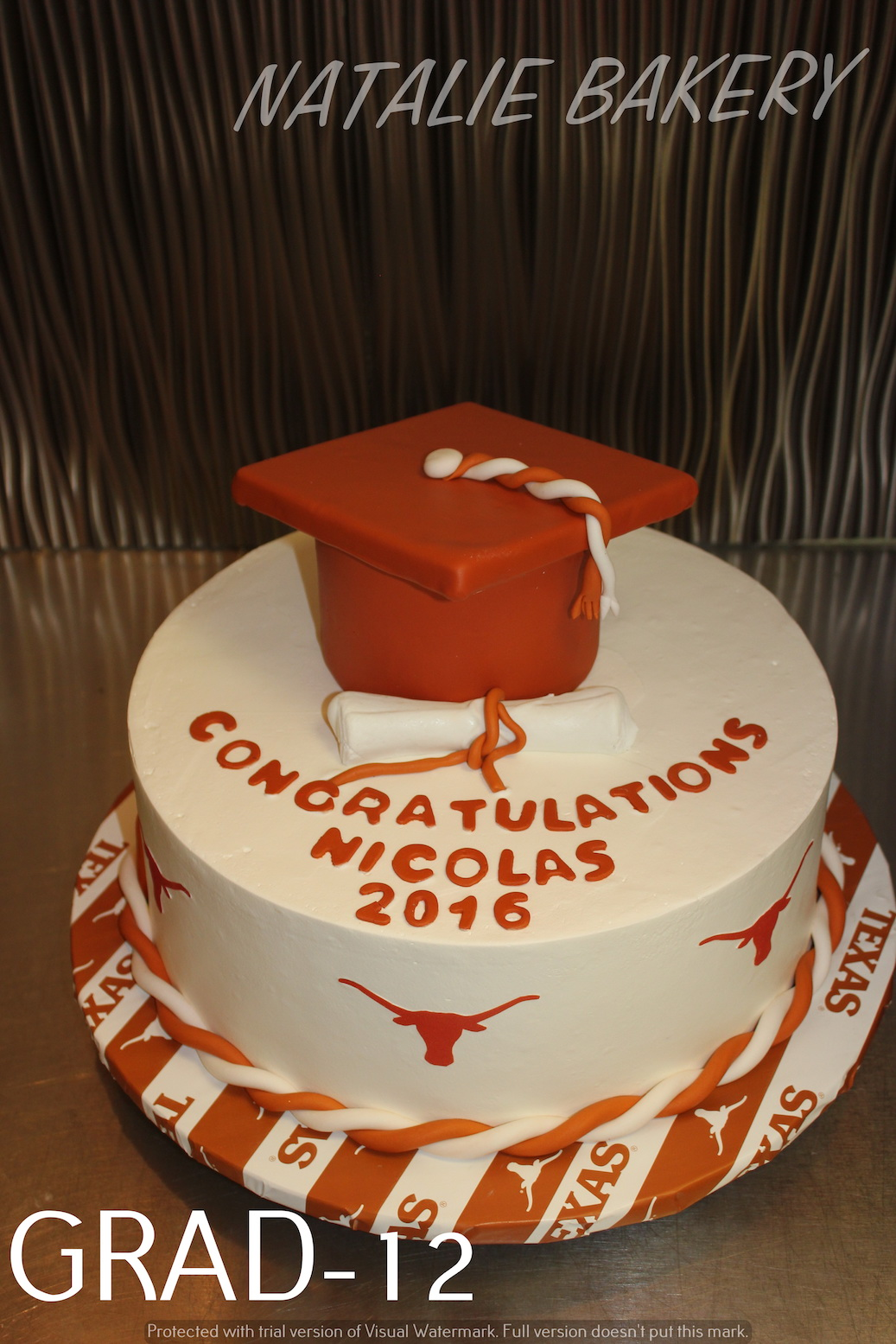 Tremendous Graduation Cakes Natalie Bakery Birthday Cards Printable Giouspongecafe Filternl