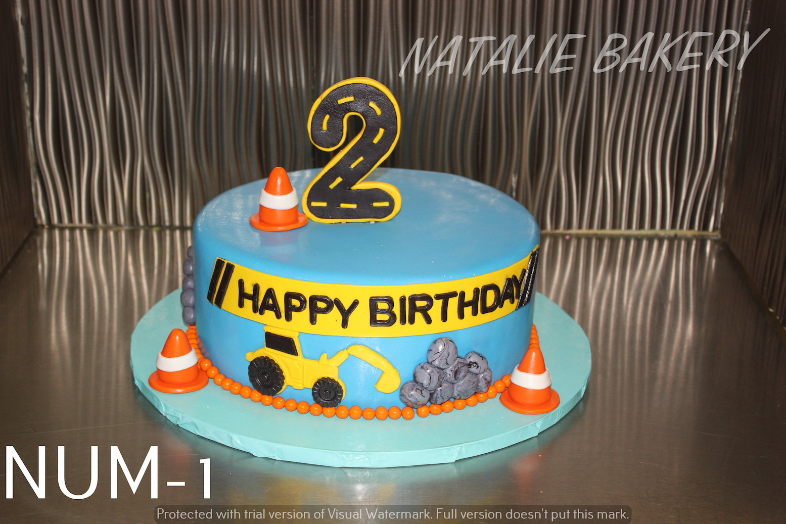 Number Birthday Natalie Bakery