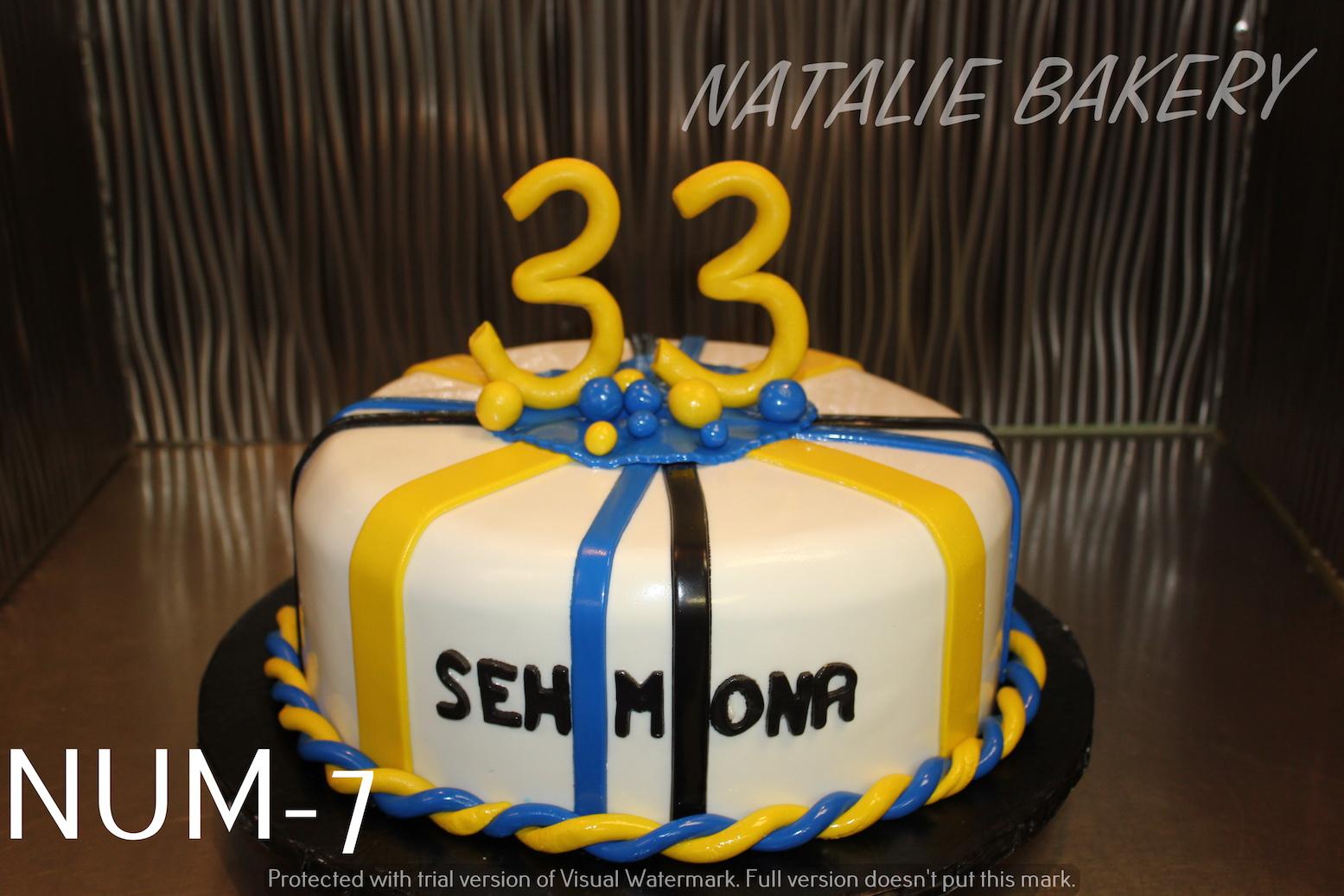 Outstanding Number Birthday Natalie Bakery Funny Birthday Cards Online Amentibdeldamsfinfo